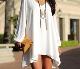 Fashion Loose V-Neck..